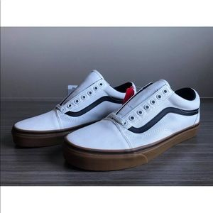 4c8423f428 Vans Shoes - Vans Women s Old Skool Gum Blanc De Blanc Black